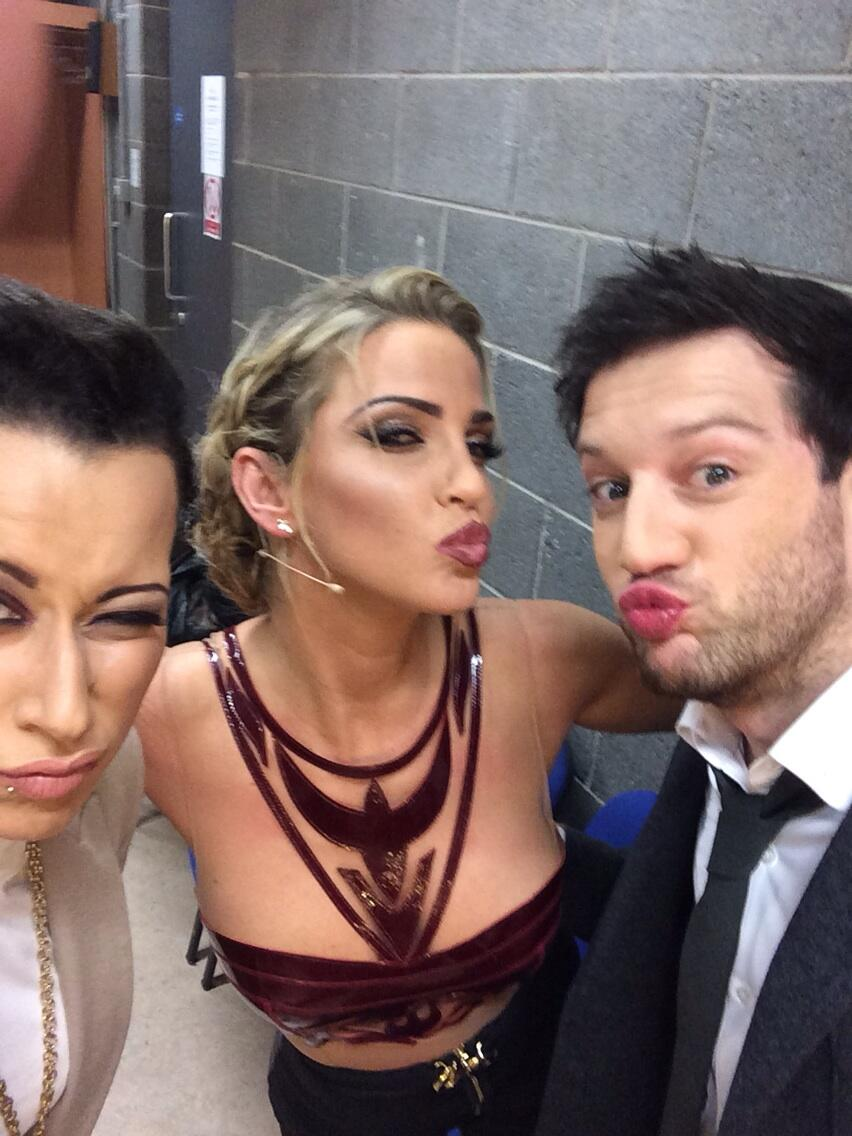 Sarah films for The Voice Ireland